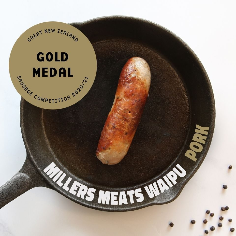 Millers Meats Gold Medal Winner